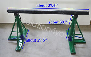 Hydraulic Wire Cable Reel Spool Stand Dispenser Holder Puller 170558