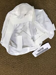 OVERWHITE HELMET COVER**Current U.S. Military Issue for MichACH wIR Tabs**Med.