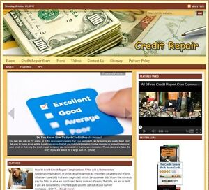 credit Repair Turnkey Website For Sale turnkeypages