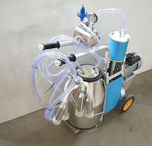 Cow Milker Electric Piston Milking Machine For Cows 170681
