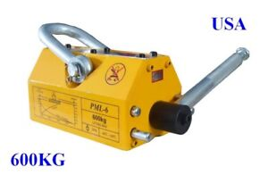 600 Kg High Quality Steel Magnetic Lifter Heavy Duty Crane Hoist Magnet