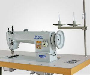 Industrial Thick Material Sewing Machine Table And 220v Motor Clothes Equipment