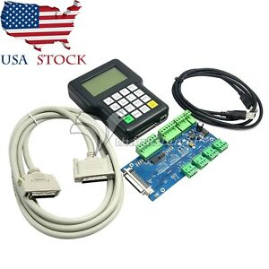 3axis Engraving Machine Controller Cnc Dsp Handle Remote Control Dsp0501 Us