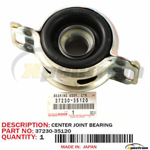 Toyota Factory 37230 35120 Drive Shaft Center Support Bearing Original Oem New