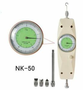 Dial Force Gauge Nk 50 Pointer Type Push Pull Torque Tester Max Load 50n 5kg