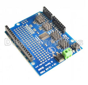 16 Channel 12 bit Pwm Servo Drive Shield Board i2c Pca9685 For Arduino