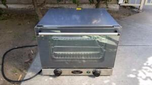 Cadco Ov 250 Commercial 1 4 Sheet Convection Oven 120v Clean Nsf Approved