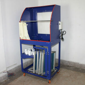 Quick Clean Screen Printing Wash Tank Vertical Rinse Sink Washout Booth Light