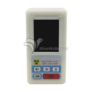 Geiger Nuclear Radiation Detector Counter Gamma X ray Digital Tester Meter