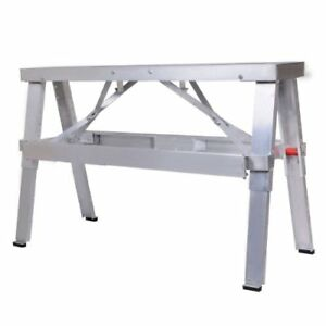 Adjustable Tool Professional Aluminum Drywall Bench Walk up 18 30 Fo