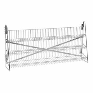 Wire Candy Snack Rack 3 Tier Counter Or Mount 48 w Chrome