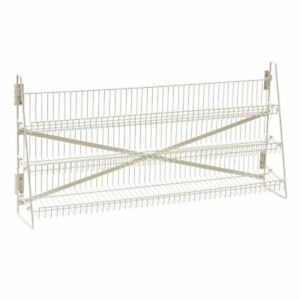 Wire Candy Snack Rack 3 Tier Counter Or Mount 48 w Beige
