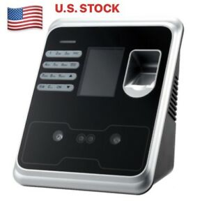 Biometric Time Clock With Face Recognition Fingerprint Or Pin Access hi02