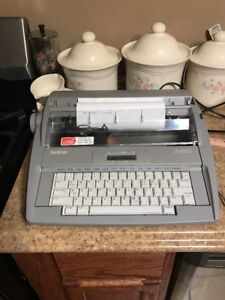 Brother Electronic Typewriter Sx 4000 Sx4000 Vintage Used Tested Works