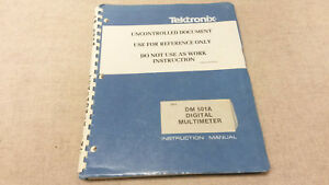 Tektronix Dm501a Service And Instruction Manual Fair Condition