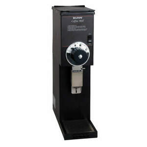 Bunn Stainless Steel Bulk Coffee Grinder 2 Lbs black 22102 0000 Black