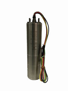 M50432 1 Centripro 5 Hp 230v 3 Phase 4 3 wire Submersible Motor open Box
