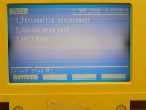 Shimadzu Uv 1201 Spectrophotometer Monitor Display