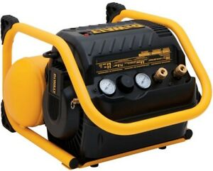 2 5 Gal Air Compressor Portable Electric Heavy Duty 200 Psi Quiet Trim Dewalt