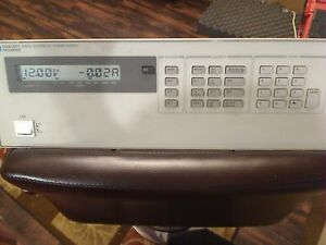 Agilent Hp 6623a Power Supply 3 Outputs Certs With Transcat Meter Free Shippin