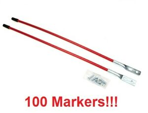 100 Universal Snowplow Blade Marker Guide For Boss Bax 0005 Buyers Sam 1308200
