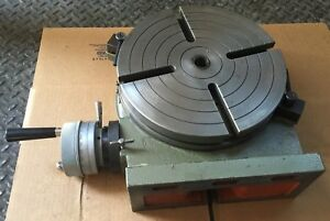 Enco 200 1063 Rotary Table Milling Machine Industrial