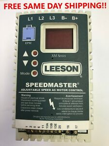 Leeson 174278 00 Adjustable Speed Ac Motor Control New Item 741448 g2