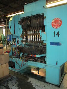 Waterbury Farrel 1510 Icop Transfer Press 4 25 Stroke W minster Clutch 15hp 3ph