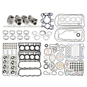 Ford 6 0l Power Stroke Diesel Engine Rebuild Kit 2003 2007 Mahle Pistons