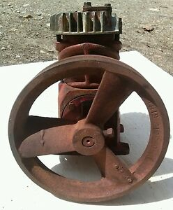 Vintage Speedaire Compressor W pulley Model 2z4988 steampunk