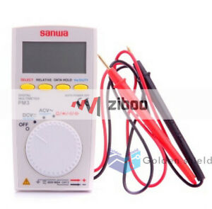 Sanwa Pm3 Digital Multimeter With Multi function Pocket Type