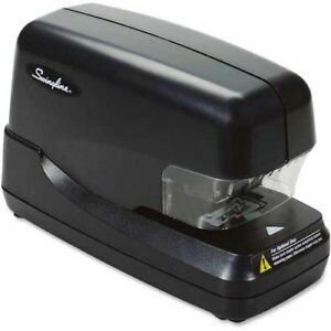 Swingline High Capacity Electric Stapler 70 Sheet 5000 Staple Capacity Black
