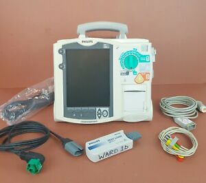 Agilent Philips Hearstream Xl Aed Biphasic Defib ecg heartstart Therapy Aed