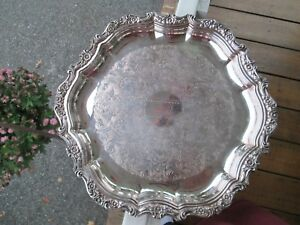 Elegant 14 25 Countess 1960 S International Silver Co Serving Tray 6271