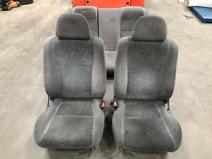 96 97 98 Honda Civic Ex 2dr Coupe Complete Front Back Seats