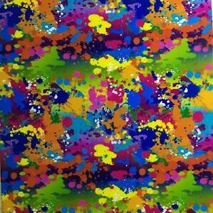 Water Transfer Hydrographic Film Hydro Dip Hydro dipping Paint Splatter 2 1sq