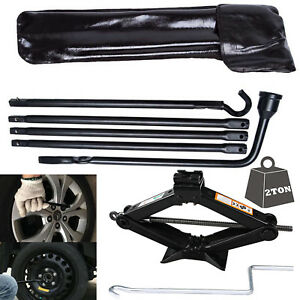 Premium Spare Tire Lift Tools W Scissor Jack For Dodge Ram 1500 Kit Lug Wrench