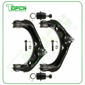 New 4pcs Upper Control Arm Lower Ball Joint For 2007 10 Ford Explorer Sport Trac
