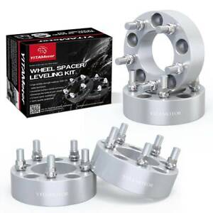 2 Hub Centric 6x5 5 To 6x5 5 Wheel Spacers Adapters For Toyota 4runner Tacoma