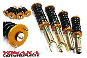 Yonaka Full Coilovers Honda Civic Ek 96 00 Performance Lowering Shocks Springs