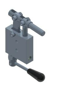 Gl Single Stroke Handpump For Single Acting Cylinder With Release Lever And Acti