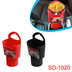 French Fries Cup Drink Beverage Seat Mount Holder Car Auto Truck Plastic Stand