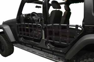 Dirty Dog 07 18 Jeep Wrangler Jk Unlimited 4dr Olympic Tube Door Nets Only Black