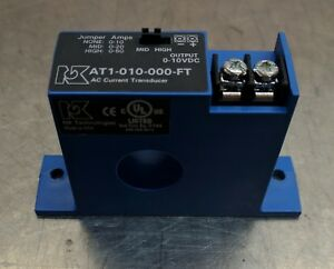 Nk Technologies Adjustable 10v Out Current Transformer 0 10a To 0 50a