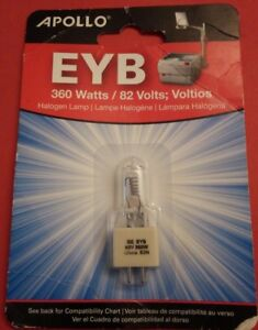 New Apollo Overhead Projector Eyb Replacement Bulb 1 Pack 360 Watts Halogen Lamp