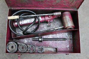 Enerpac Knockout Punch Set Hydraulic Knockout Punch