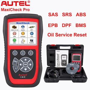 Autel Maxicheck Pro Auto Diagnostic Tool Obd2 Code Reader Scanner Abs Airbag