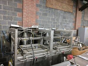 Vertical Form Fill Seal Rovema Vffs Twin Bagger Stainless