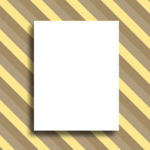 8 5 X 11 Full Page Sticker Paper Matte White Blank Sheets Inkjet