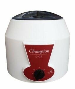 Ample Scientific Champion E 33 Bench top Centrifuge With 0 30mins Timer 3300r